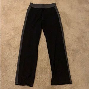 Lulu Sweatpants with Gray Side Panel